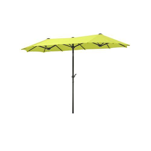 Balkonschirm ¦ grün ¦ Maße (cm): B: 150 H: 220 T: 150 Garten > Sonnenschutz > Sonnenschirme - Möbel Kraft