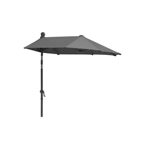 Sonnenschirm ¦ grau ¦ Maße (cm): B: 150 Garten > Sonnenschutz > Sonnenschirme - Möbel Kraft