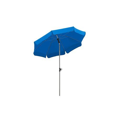 Sonnenschirm ¦ blau ¦ Maße (cm): H: 220  Ø: [150.0] Garten > Sonnenschutz > Sonnenschirme - Möbel Kraft