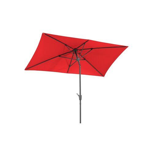 Sonnenschirm ¦ rot ¦ Maße (cm): B: 270 H: 250 T: 150 Garten > Sonnenschutz > Sonnenschirme - Möbel Kraft