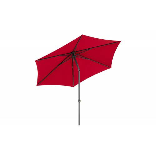 Sonnenschirm ¦ rot ¦ Maße (cm): H: 246  Ø: [270.0] Garten > Sonnenschutz > Sonnenschirme - Möbel Kraft