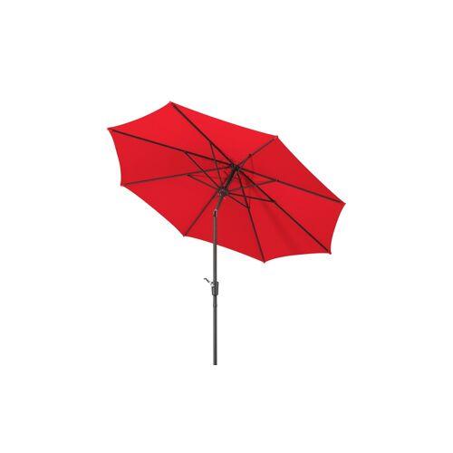 Sonnenschirm ¦ rot ¦ Maße (cm): H: 260  Ø: [270.0] Garten > Sonnenschutz > Sonnenschirme - Möbel Kraft