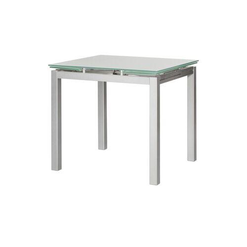 Esstisch ausziehbar ¦ silber ¦ Maße (cm): B: 75 H: 75 Tische > Esstische - Möbel Kraft