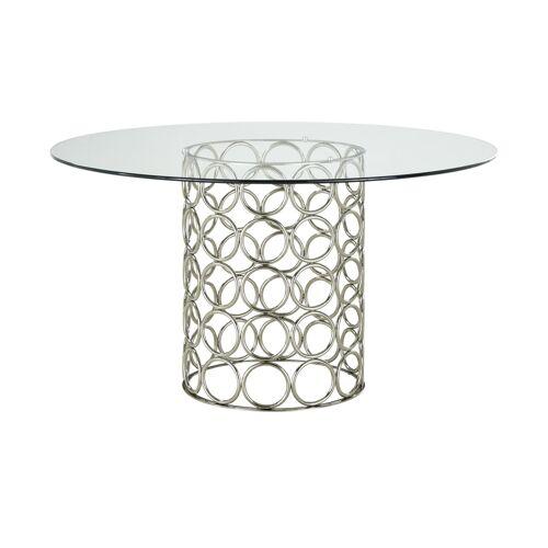 Esstisch ¦ silber ¦ Maße (cm): H: 76  Ø: [140.0] Tische > Esstische - Möbel Kraft