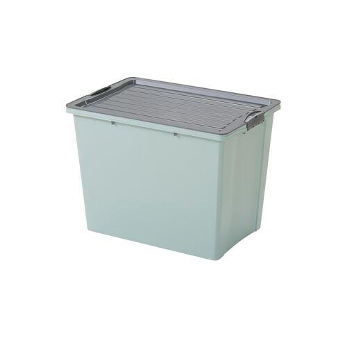 Rotho Aufbewahrungsbox mit Deckel ¦ grün ¦ Maße (cm): B: 39,5 H: 43,5 Aufbewahrung > Aufbewahrungsboxen - Möbel Kraft