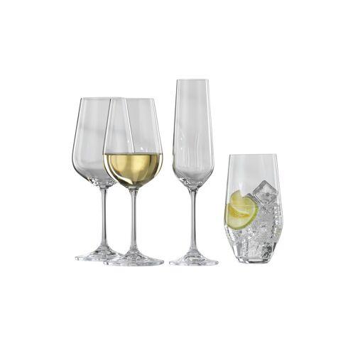 BOHEMIA Kelchglas-Set, 24-teilig ¦ Kristallglas ¦ Maße (cm): B: 35,5 H: 47 Gläser & Karaffen > Weingläser - Möbel Kraft