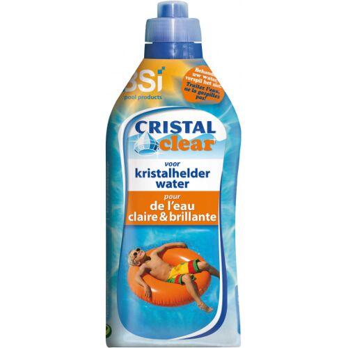 BSi Poolreiniger Cristal Klar 1 Liter Blau