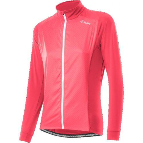 Löffler Fahrradjacke Leicht Damen Polyester Rosa Größe 40