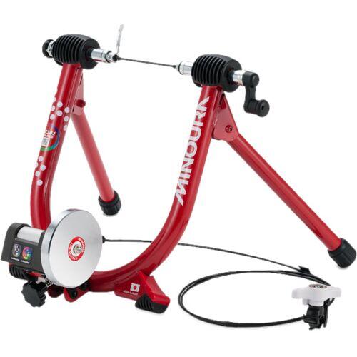Minoura Fahrradtrainer Liveride LR341 61 X 42cm Stahl Rot