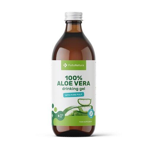 FutuNatura 100% Aloe vera Gel, 500 ml