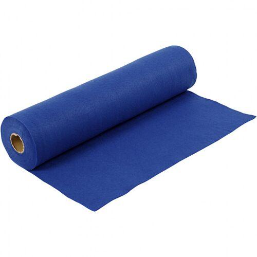 Creotime hobby Filz Filz 500 x 45 cm blau