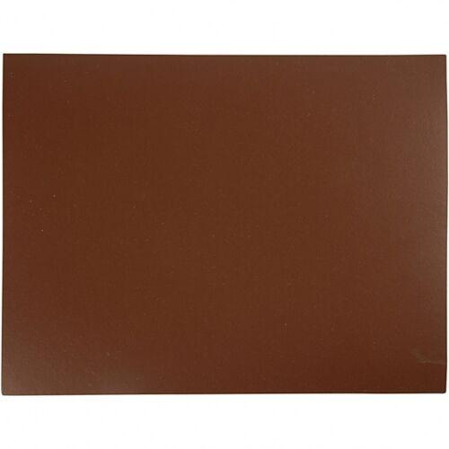 Creotime linoleumplatte braun 30 x 39 cm 1 Stück
