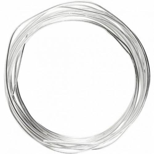 Deco metalldraht 1,2 mm 3 Meter Silber
