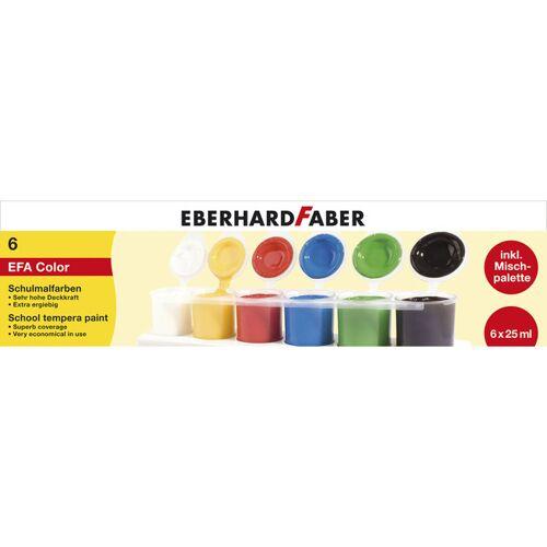 Eberhard Faber schulfarbe junior 25 ml 6 Stück