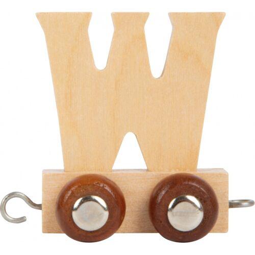 Small Foot eisenbahnwagen Buchstabe B Holz beige 5 x 3,5 x 6 cm