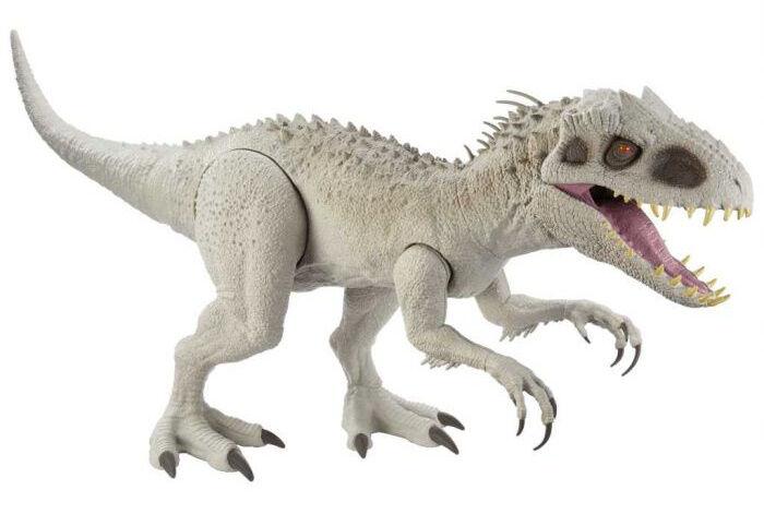 Jurassic World dinosaurier Kolossaler Indominus Rex 90 cm grau