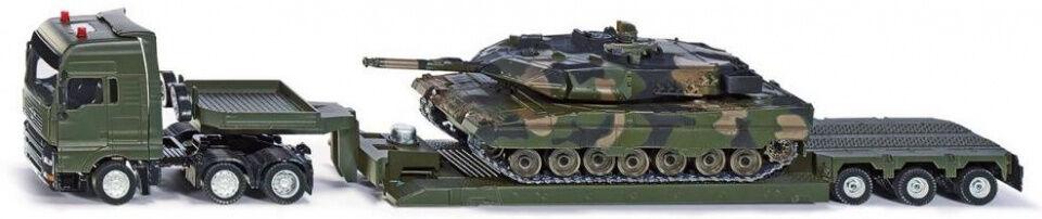 Siku Man Tieflader Panzer Panzer 51 cm Stahl grün 3 teilig (8612)