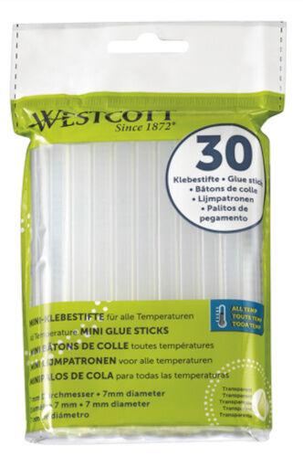 Westcott klebestifte Minen 7 mm transparent 30 Stück