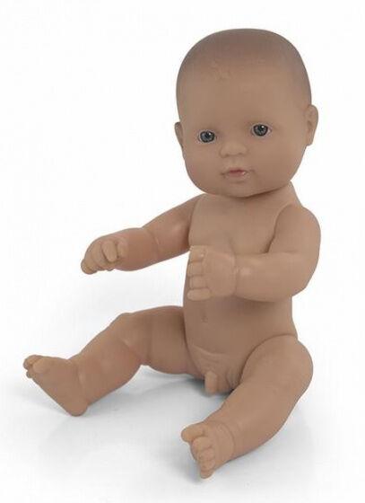 Miniland babypuppe europäischer Junge 32 cm leer