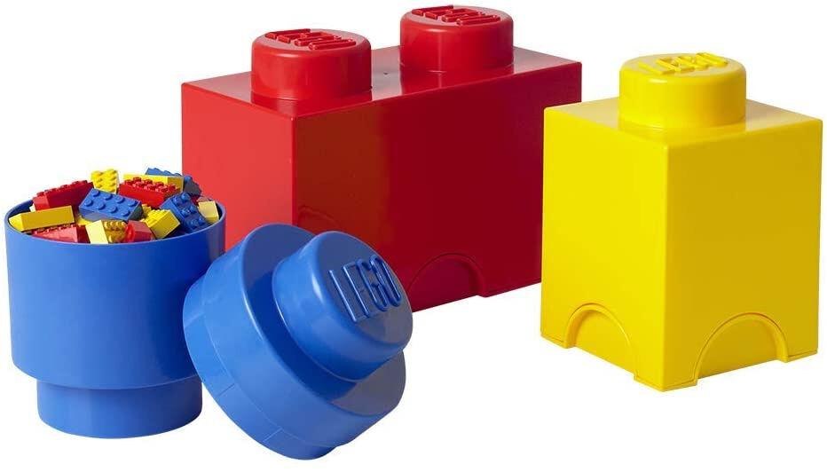 Lego ablagestein Set 25 x 12,5 cm Polypropylen 3 teilig