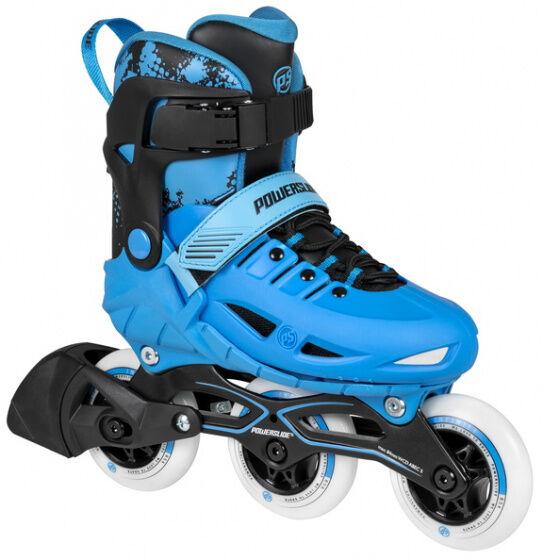 Powerslide inline Skates Phuzion junior schwarz/blau Größe 33 36