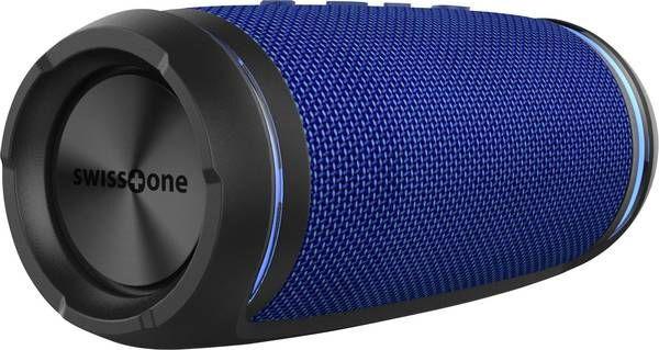 Swisstone lautsprecher BX 520 TWS Bluetooth AUX 19 cm blau