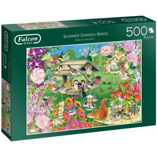 Jumbo puzzle Summer Garden Birds 500 Teile
