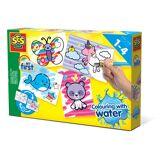 Creative SES Creative farben mit Wasser Phantasie Tiere Junior