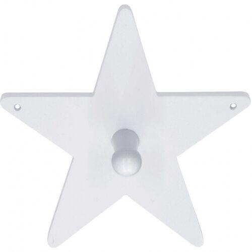 Kid's Concept holzgarderobe Star 14 cm weiß