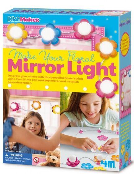 4M Stellen Sie Ihren eigenen Spiegel Lichtschlauch mit Blumen 1 Meter lang her