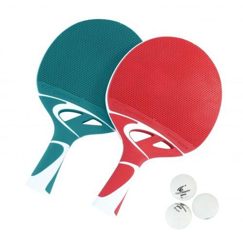Cornilleau Tischtennisschläger Tacteo Duo Pack Outdoor