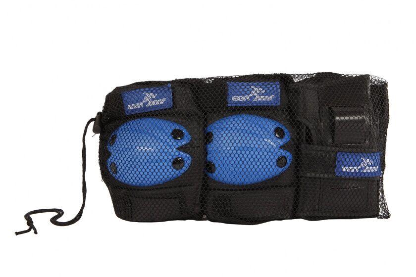 Street Runner schlittschuhschutz Set blau Größe S 6 teilig