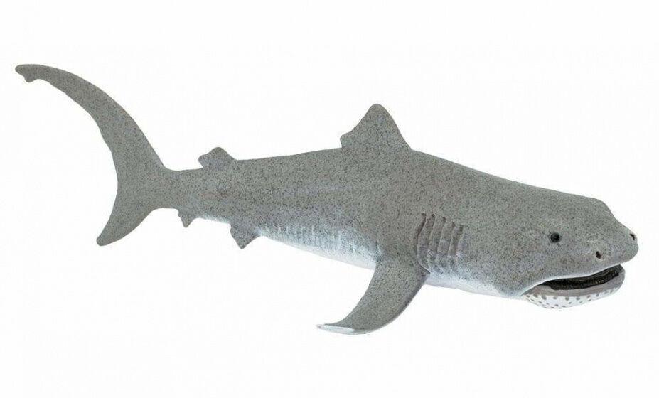 Safari meeresbewohner Riesenschnabelhai junior 17,25 cm grau/weiß