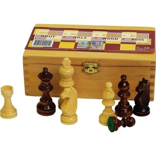 Abbey Game holzschachfiguren 87 mm