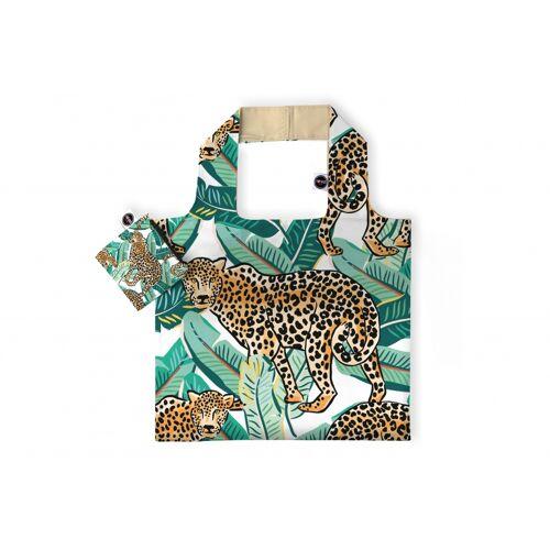 Any Bags faltbarer Shopper Leopard 48 cm