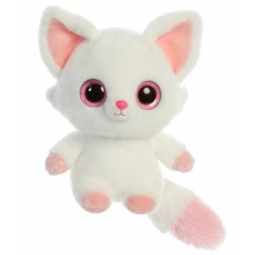 Aurora stofftier YooHoo Fuchs Pammee 20,3 cm weiß/rosa