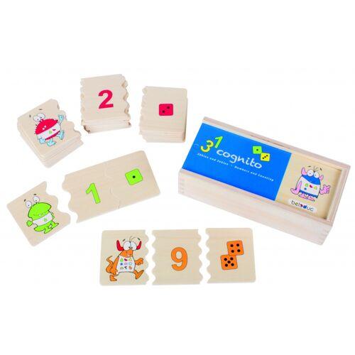 beleduc puzzle Cognito   Zahlen und 30 Teile zählen