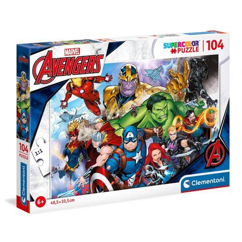 Clementoni puzzlespiel Marvel Avengers 48,5 cm Karton 104 Teile