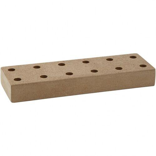 Creotime stifthalter Holz 20x7x3 cm