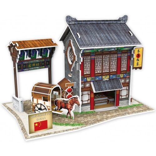 CubicFun 3D Puzzle Chinesisches Restaurant 16,5 cm Schaumstoff 47 Teile