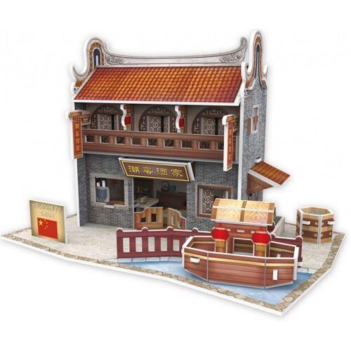 CubicFun 3D Puzzle Chinesisches Restaurant Qilu Schaumstoff 38 Teile