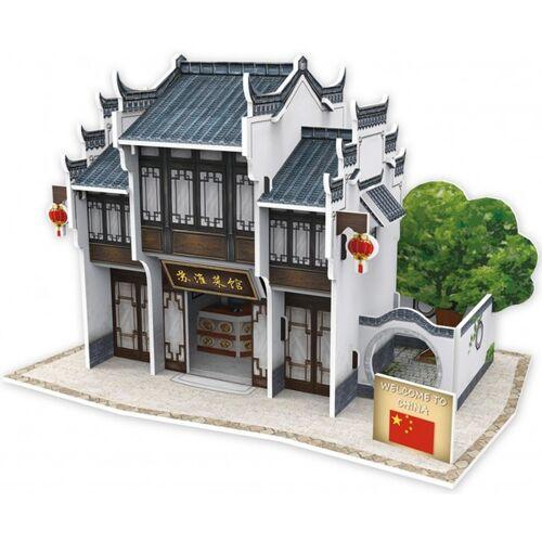 CubicFun 3D Puzzle Chinesisches Restaurant Suhuai Schaumstoff 27 Teile