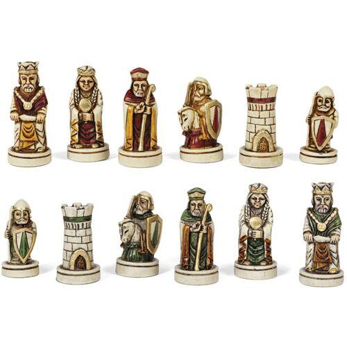 Dal Negro schachfiguren Barbarossa 65 mm Duralbaster weiß