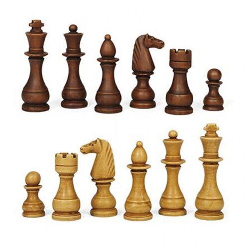 Dal Negro schachfiguren Classic 12 cm Holz braun