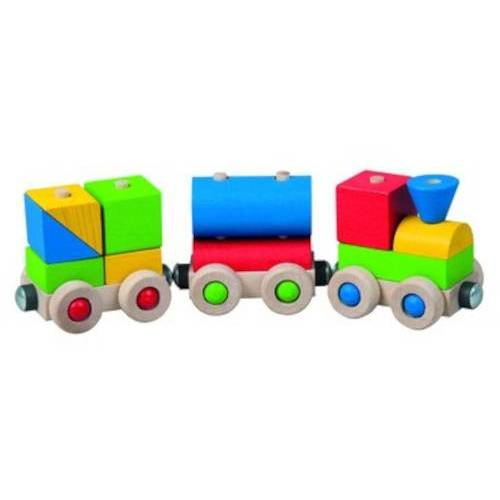 Detoa spielzeugeisenbahn Happy Train junior 12,6 x 7,6 cm Holz