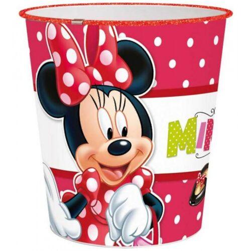 Disney papierkorb Minnie Mouse Mädchen 10 Liter 22,5 cm rot