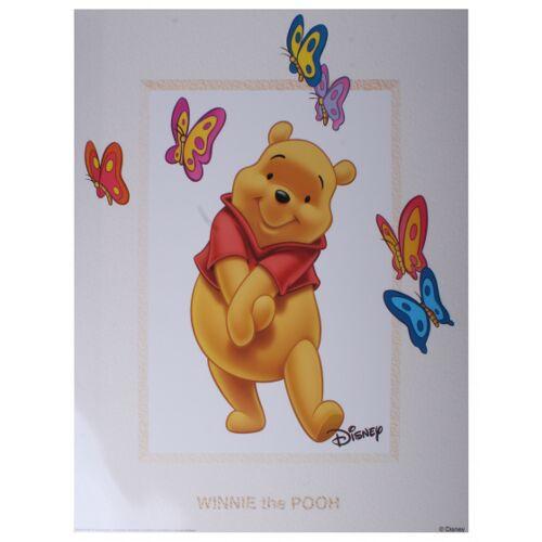 Disney poster Winnie Schmetterlinge junior 50x40 cm Papier