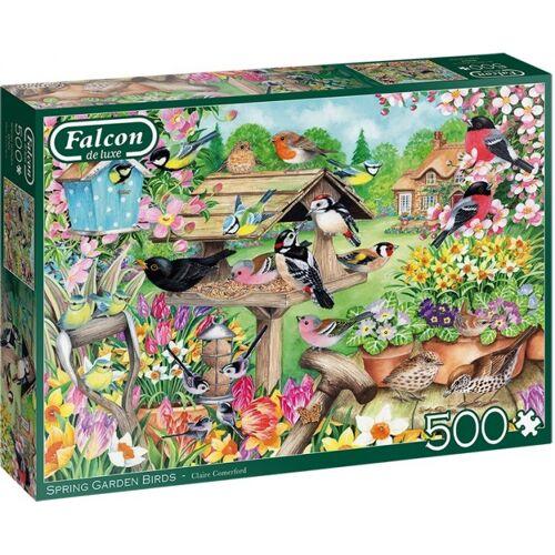 Falcon puzzle Spring Garden Birds Karton 500 Teile