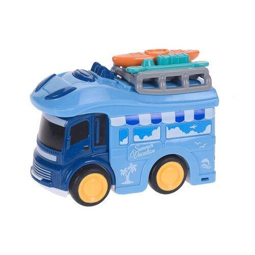 Free and Easy wohnmobil Wohnmobil Strandurlaub 9 cm blau