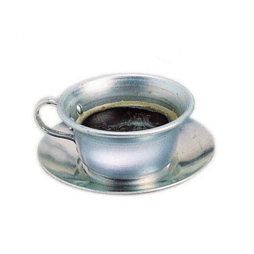 Glückskäfer tee /Kaffeetasse mit Metallschüssel 10 x 4 cm